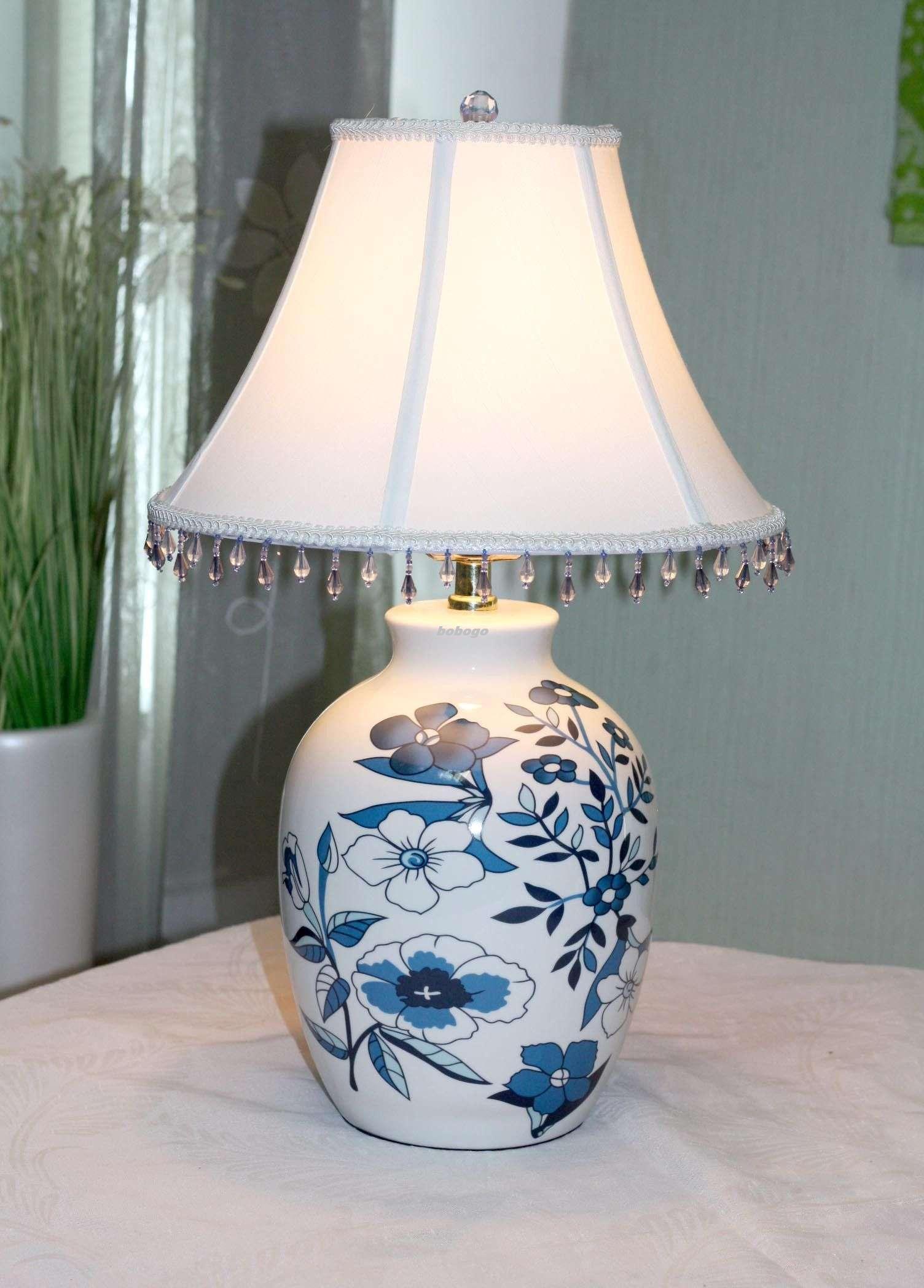 Table lamp ceramic table lamp bedside lamp bedroom table lamp
