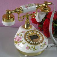 Wholesale Cape genuine ceramic antique telephones pastoral style of retro home landline Caller ID creative