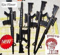 Wholesale Promotion New Arrival Novelty Gun Pen Gift pen Promotion pen WHITE BOX PACKING