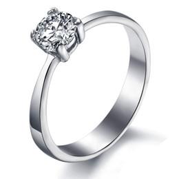 Wedding Rings - Swiss Diamond - tg03 - Ms. titanium steel rings