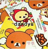 Wholesale New cute Rilakkuma series post card greeting card postcard