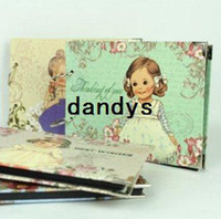 Bamboo bamboo photo albums - Creative cute doll photo album Personality corner photo album Kid s gift FreeShipping