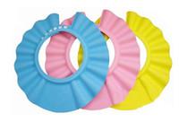 Shower Caps hair washing hat - bath cap kid s shower hat baby s hair wash hat Shampoo Shower cap Yellow Pink Blue