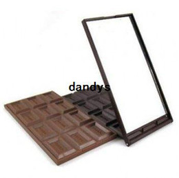 Wholesale Chocolate long shaped mirror hand Mirror portable pocket cosmetic mirror Design