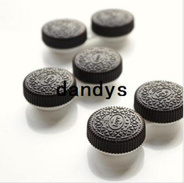Wholesale Funny Oreo Cookie contact lenses case amp box Eyewear Cases amp Bags