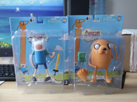 Wholesale Cartoon Network Adventure Time JAKE and FINN PVC Doll Toy Figure inch