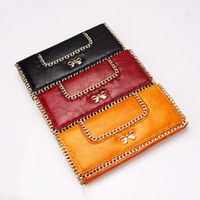 Wholesale Rowling New Long Faux Leather Women Wallet Purse Clutch Evening Handbag