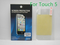 Wholesale Ultra Clear Screen Protector Screen Guard Protective Film For Apple iPod Touch Retail Package High Quality