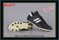 Wholesale Soccer Shoe Copa Mundial FG TPU Leather Soccer Cleats Black Sports Football Shoe Shoe Boots Cleat