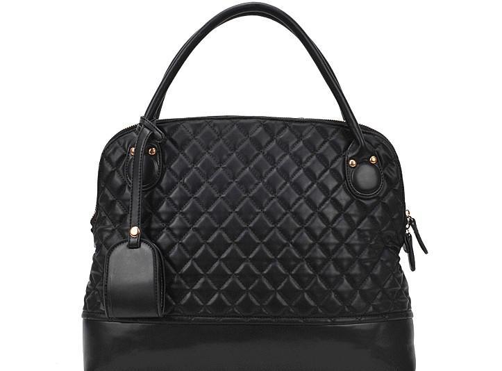 Cheap Handbag Designer Women Tote Bag Sewing PU Black Brown 2013 New