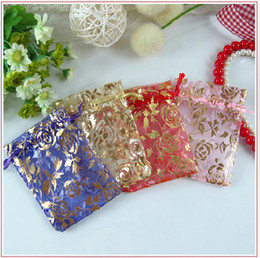 Wholesale Organza Jewelry Wedding Party Gift Bags Candy Bag Shower Party Gift Pouch