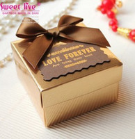Wholesale High Quality Paper Candy Box Wedding Party Favor Gift Holder Boxes