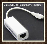 Wholesale CHpost pin Micro USB to Fast Ethernet Adapter Mb RJ45 For PC MAC Laptop Mid RW L11