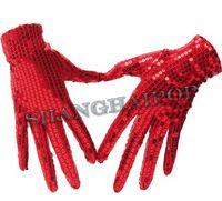 Wholesale Glove Dance Michael Jackson Billie Jean Fancy Dress Silver Golden Gloves