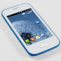 Wholesale I9500 Mini S4 Android Wifi Smart Phone Inch Capacitive Screen Ghz Dual Sim Quad Band GSM Unlocked M RAM goophone i5s i5