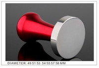 Wholesale 49 MM Coffee Tamper Free shiping Coffee tamper