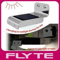 Wholesale Sound Sensor PIR Sensor LED Solar Light Waterproof Garden LED Lamp Path Light LED Wall Light Doorway Light One Year Warranty By DHL