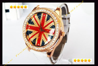 Wholesale Hot UK Promotion Cow leather watches women watches High quality ROMA watch header hotting sale in whole world