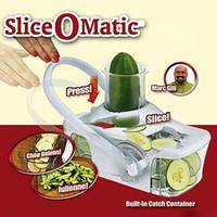 fruit slice - Slice O Matic FOOD SLICER New Fruit Vegetable Mandoline Knife FAST