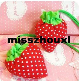 Wholesale - Eco-friendly Foldable Reusable Strawberry Shopping Bag,Christmas Gift