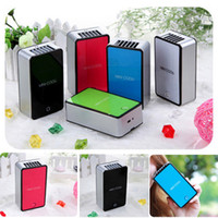 Wholesale Handheld usb battery amphibious students mini Mobile phone shape fan palm air condit Rechargeablei many color
