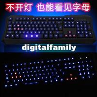 Wholesale Cheap F6 wired gaming laptop keyboard luminous usb waterproof laptop backlit keyboard