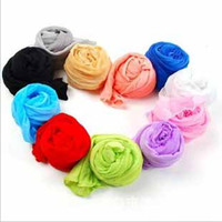 Wholesale Hot Lady Mixed Candy Colour Long scarf gradient Fabric Wool thin scarves Circle Wrap Shawls long poncho silk scarf