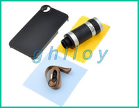 Wholesale Hot Sale x Optical Zoom Telescope Camera Lens For iPhone S extermal telephoto with package