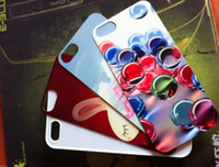 Wholesale DIY Metal Aluminium plates Sublimation cover cases for iphone print and heat press case