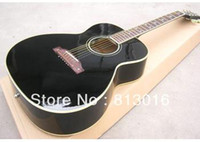 acoustic guitar bridge - acoustic guitar J180 model with Star inlay on fingerboard and bridge Solid black finished