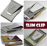 Wholesale Top quality BRAND NEW MONEY DOUBLE SIDED WALLET CARD HOLDER Money Clips
