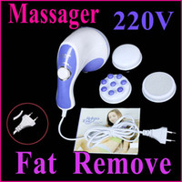Wholesale On Sale Professional Massager Full Body Massage Massager Handheld Fat Remove Slim Machine V H4897