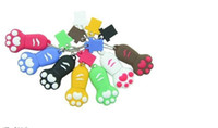 Wholesale Cat s paw cartoon usb flash drive factory creative USB GB GB GB GB GB gifts U disk