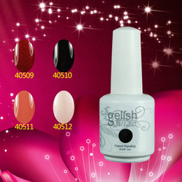 Wholesale New Arrival Gelish Soak Off UV LED Gel Nail Polish Colors ml ML Factory