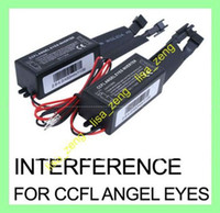 Wholesale 2 X Spare INTERFERENCE inverter FOR CCFL Angel Eyes Light Halo Ring V pair