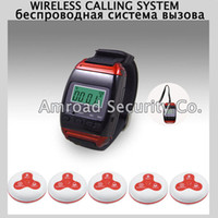 1 Set Wireless Call Calling System Waiter Watch Receiver Ser...
