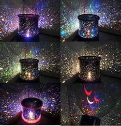 Retail 1pcs Romantic Dreamlike Colorful LED Star Master Projector Lamps for Party Christmas Decoration Valentine's Gift