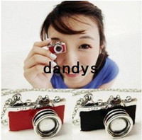 Wholesale Korea style Red Black color Camera Necklace pendant Necklace fashion jewellery