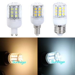Led Corn Lamp E27 G9 E14 5W 27 Led Cover 5050 SMD LED Light Bulb AC 110V  220V High power Energy Saving LED Light Bulbs on sales