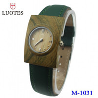 Wholesale European and American technology wooden table wooden watch gift ideas grade green low carbon wood watches