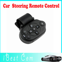 Wholesale New Version Auto Car Steering Wheel Study Remote Control for DVD GPS DC TV MP3 Player car DVD