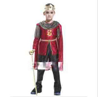 Wholesale Children s Halloween costumes costume party king royal prince