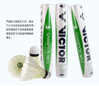 Wholesale Hot Selling Badminton Victor CHAMPION NO Badminton Shuttlecock Genuine Guaranteed Shuttlecock