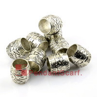 Wholesale 50PCS Hot Fashion DIY Jewellery Necklace Scarf Pendant Plastic CCB Slide Holding Tube Charm Bails Accessories AC0159A