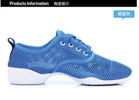 Unisex dance shoes - 2015 Summer models mesh Sansha dance shoes Authentic shoes modern Sports shoes sandals Square the lightest and most breathable comfort hot