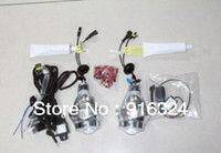 12V   Very Cheap shipping !G3 Bi-Xenon HID Projector Lens Kit with Angel Eyes+ 1 year warranty