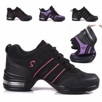 Wholesale Fashion Canvas Upper Modern Jazz Hip Hop Dance Shoes Sneakers For Women