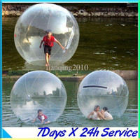 Wholesale 2013 Sports amp Outdoors Zorb Zorbing Walk ball Water walking ball Walk on Water Ball M PVC MM fast shipping