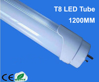 T8 18w smd 2835 HOT Sale T8 18W 4 Feet 1200mm 1800lm 4FT 85-265 AC LED Tube Light Bulb Lamp Fluorescent Tube 25pcs lot