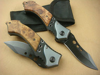Knives Utility Knife poket knife New Browning 338 Falcon 3 Eyes Hunting Camping knife 440C Blade Xmas gift
